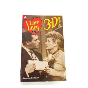 I LOVE LUCY IN 3-D Comic book #1 Sealed Glasses